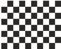 Style noir et blanc abstrait d'échecs de fond carré Photo libre de droits