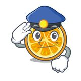 Style orange de bande dessinée de caractère de police Photographie stock libre de droits