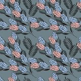 Style pattern for fabric Royalty Free Stock Images