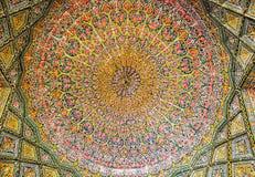 Style persan traditionnel antique de peinture de couleur, modèles gracieux photo stock