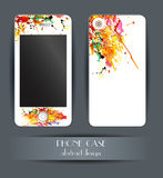 Style phone case. Cover for your mobile phone. Stock Photography