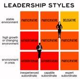 Style przywództwa ilustracja wektor