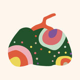 Style pumpkin cartoon elements vector,eps Stock Image