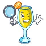 Style révélateur de bande dessinée de caractère de mimosa Photographie stock
