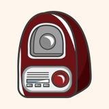 Style radio theme elements vector,eps Stock Photo