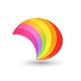Style Rainbow Shape Stock Photos