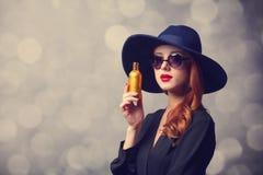 Style redhead women Stock Photo