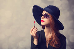 Style redhead women Royalty Free Stock Photography