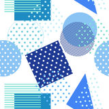 Style retro Memphis 80s or ' 90s-inspired fashion abstract Stock Photography