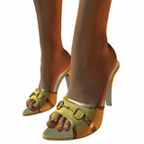 Style Sandals Stock Images