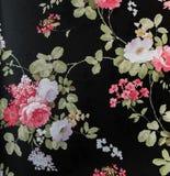 Style sans couture floral de vintage de fond de tissu de modèle de rétro dentelle Photos stock