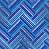 Style Seamless Color Knitted Pattern Stock Photos