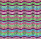 Style Seamless Knitted Pattern Stock Photos