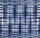 Style seamless knitted pattern Stock Photo