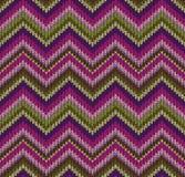 Style seamless knitted pattern Stock Photo