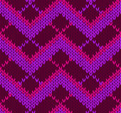 Style Seamless Red Pink Violet Pattern Royalty Free Stock Photos
