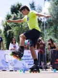 Style-slalom competition Stock Image