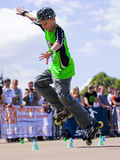 Style-slalom competition Royalty Free Stock Photos