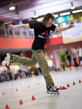 Style-slalom competition Royalty Free Stock Photography