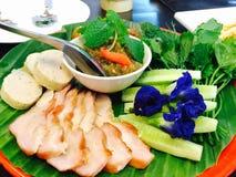 Style thaïlandais d'apéritifs Photo stock