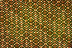 Style thaïlandais de modèle de tissu Images stock