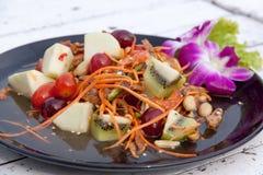 Style thaïlandais mélangé 03 de salade de fruits Photo stock