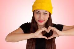 Style vanlentine-44 heureux de fraise-mère de hib de femme Image stock