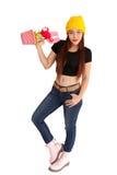 Style vanlentine-9 heureux de fraise-mère de hib de femme Photos stock