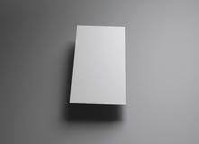 Style vertical de flotteur de Namecard Images libres de droits