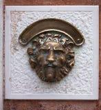 Styled doorbell Stock Image