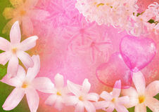 Styled spring picture Royalty Free Stock Images