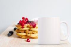 Styled Stock Mug Mockup Image Royalty Free Stock Image