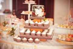 Styled wedding cookies Stock Photo