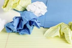 Styles de papier Images stock