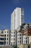 Styles mélangés de bâtiments brighton l'angleterre photographie stock