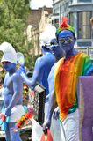 Styles at the Pride Parade in Madison, Wisconsin Stock Photo