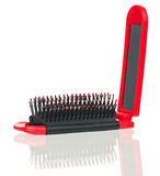 Styling hairbrush Royalty Free Stock Image