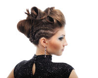 Styling hairstyle II Royalty Free Stock Photo