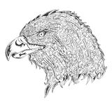 Stylised eagle Stock Images