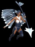 Stylised female angel Stock Images