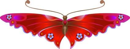 stylised fjäril Arkivfoton