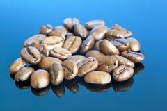 Stylised kaffeböna Arkivfoton