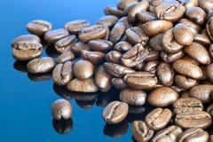 Stylised kaffeböna Arkivbilder