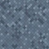 Stylised shingles. Abstract seamless pattern. Shades of gray. Random rhomb texture. For decoration, wallpaper, web-page background Royalty Free Stock Image
