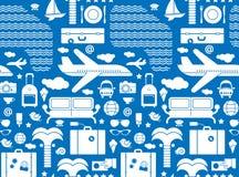 Stylised travel background Stock Image