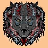 Stylised wolf Royalty Free Stock Photos