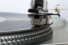 Stylish 20-years old turntable Stock Photos