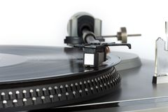 Stylish 20-years old turntable Royalty Free Stock Photo