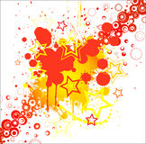 Stylish abstract background. Vector banner Royalty Free Stock Images