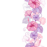 Stylish abstract floral background. Design of Royalty Free Stock Image